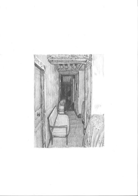 , 'Empty corridor ,' 2018, GCA Gallery