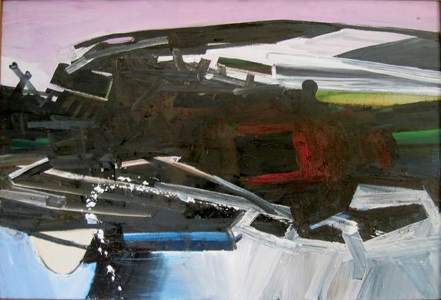 John Hultberg, 'Kline Form', 1962, Painting, Oil on canvas, Anita Shapolsky Gallery