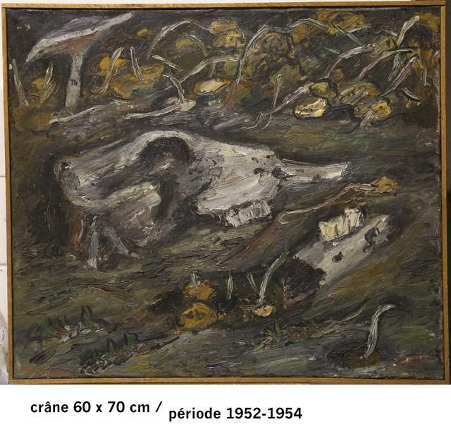 , 'Crâne et champignons,' 1952, Galerie Gabrielle Maubrie