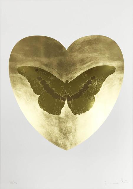 Damien Hirst, 'I Love You - Gold Leaf/Oriental Gold/Cool Gold', 2015, Hamilton-Selway Fine Art