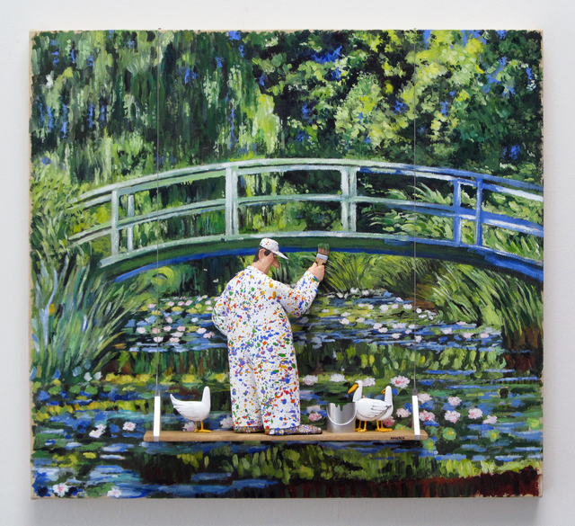 , 'Water Lilies and Japanese Bridge: Monet,' 2016, Zenith Gallery
