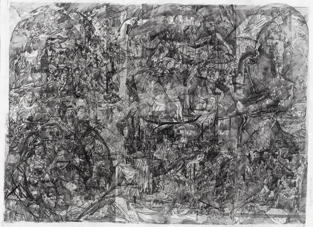 , 'Le grand alpha de la peinture 2,' 2016, Galeria Plan B