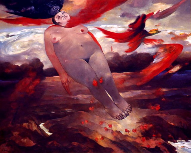 , 'The Ascension,' 1994, Elgiz Museum