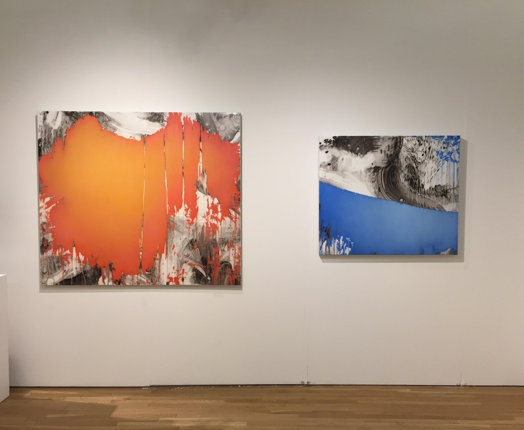 "Jeff Muhs ""Descendant of the Sun"" (left) and ""Way of the Brush"" (right)"