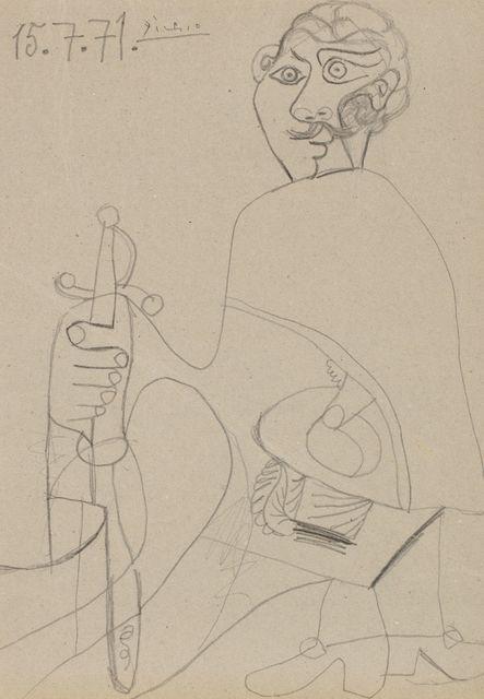Pablo Picasso, 'Mousquetaire à l'épée', 1971, Artur Ramon Art