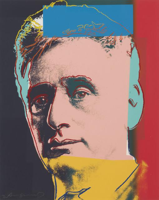 Andy Warhol, 'Louis Brandeis, from Ten Portraits of Jews of the Twentieth Century', 1980, Christie's