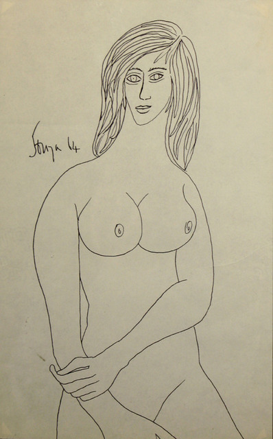, 'Untitled (Nude Female),' 1964, Aicon Gallery
