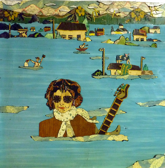 , 'Bob Dylan: How High's the Water Mama ,' 2015, Court Tree Gallery