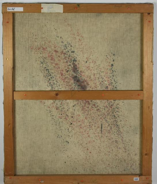Franco Angeli, 'Ipocrisia', 1959, Mixed Media, Mixed media, nylon stockings and gauze on canvas, Itineris