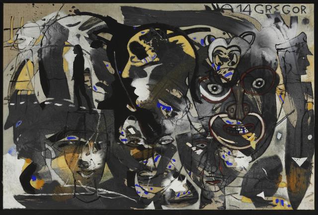 , 'Mausi auf dem Weg zum Friseur,' 2014, Galerie Kremers