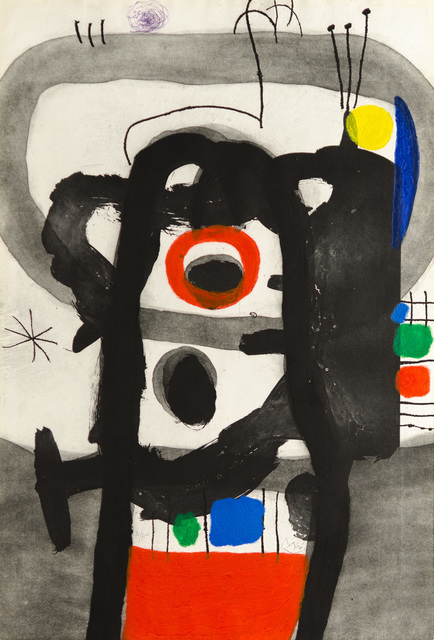 Joan Miró, 'L'ENRAGÉ (The Angry One)', 1967, Christopher-Clark Fine Art