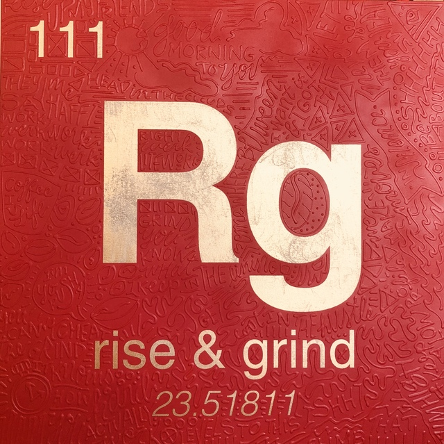 , 'Periodic Table of Relevance Series: RISE & GRIND,' 2018, Contessa Gallery