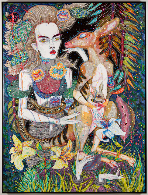 Del Kathryn Barton, 'what i am also', 2013, Roslyn Oxley9 Gallery