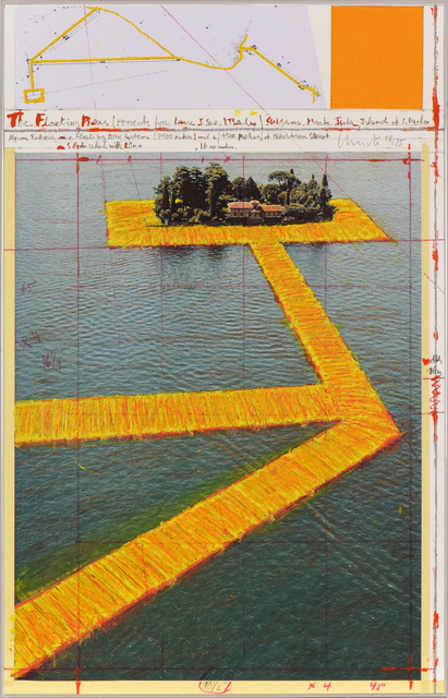 , 'Floating Piers (Project for Lake Iseo, Italy),' , Stern Pissarro