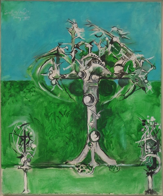, 'Thorn Trees, Spring,' 1967, Osborne Samuel