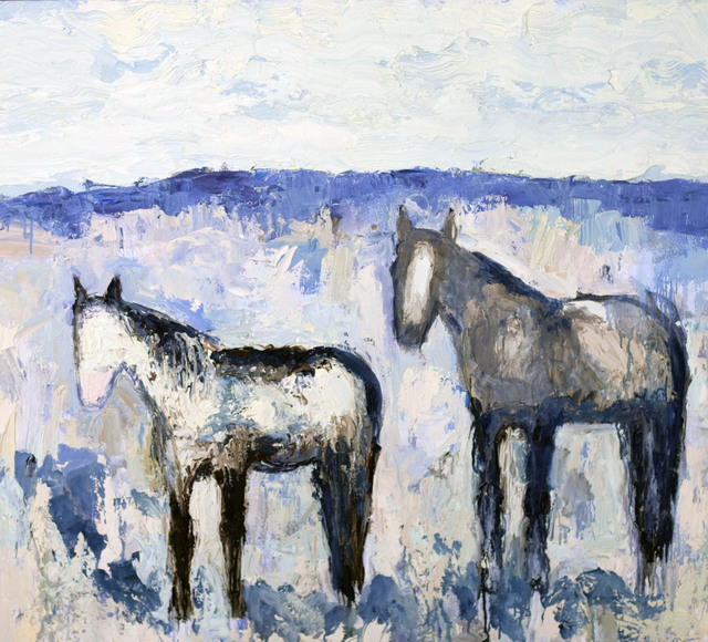 , 'Stillwater Horses #3,' 2014, Valley Fine Art