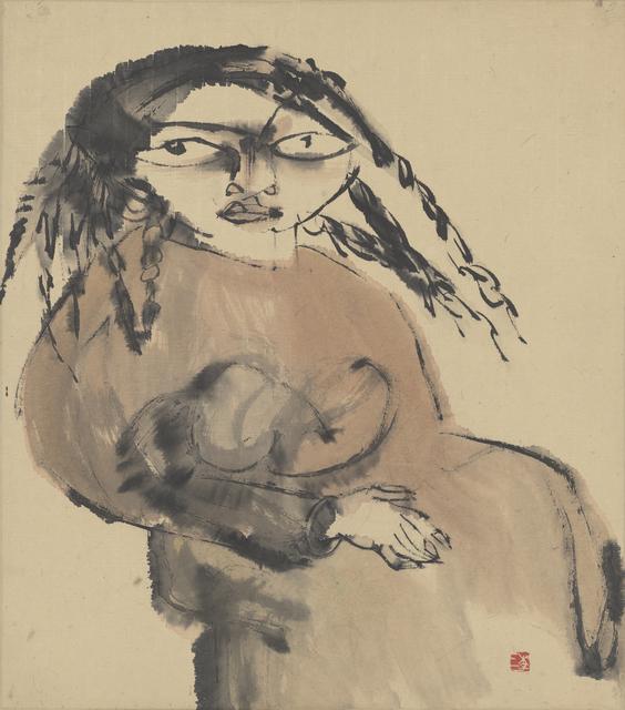 , 'Tibetan Woman 藏女,' 1984, Ink Studio