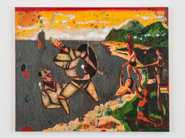 , 'Death of Magellan,' 2013, Christine Park Gallery