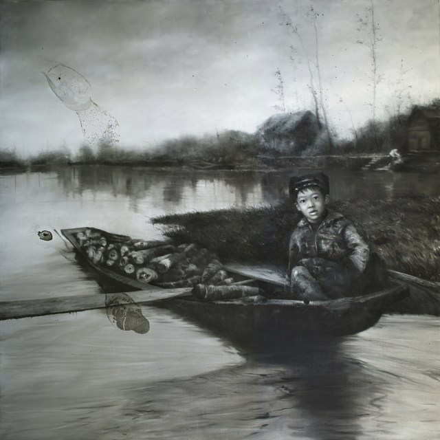 , 'Alone on the boat,' 2014, ArtAndOnly