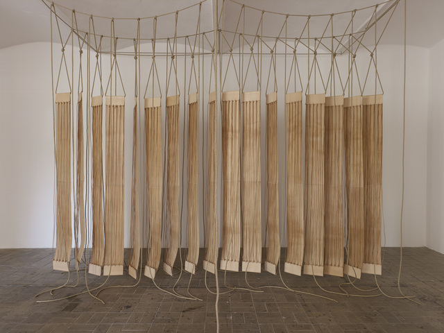 , 'A secluded and pleasant land. In this land I wish to dwell,' 2014, Galeria Luisa Strina