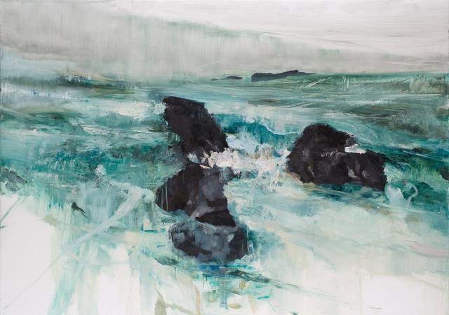 , 'Rocher et eau 01,' 2015, Dolby Chadwick Gallery