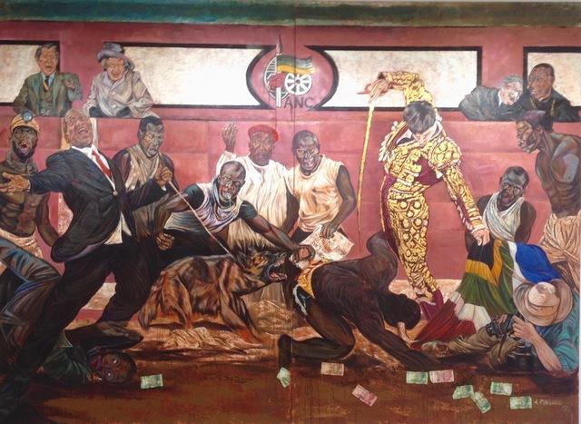 Ayanda Mabulu, 'Black man's cry', 2013, Galerie Galea