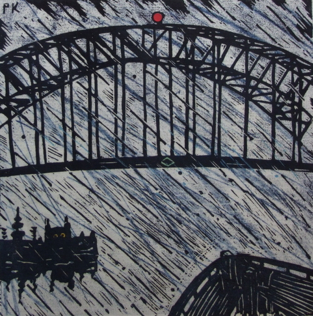 , '32nd view of the Harbour Bridge,' 2001, Australian Galleries