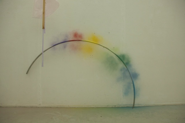 , 'How To Make A Rainbow Or Arch Appear In The Sky,' 2015, GALERÍA MARTA CERVERA