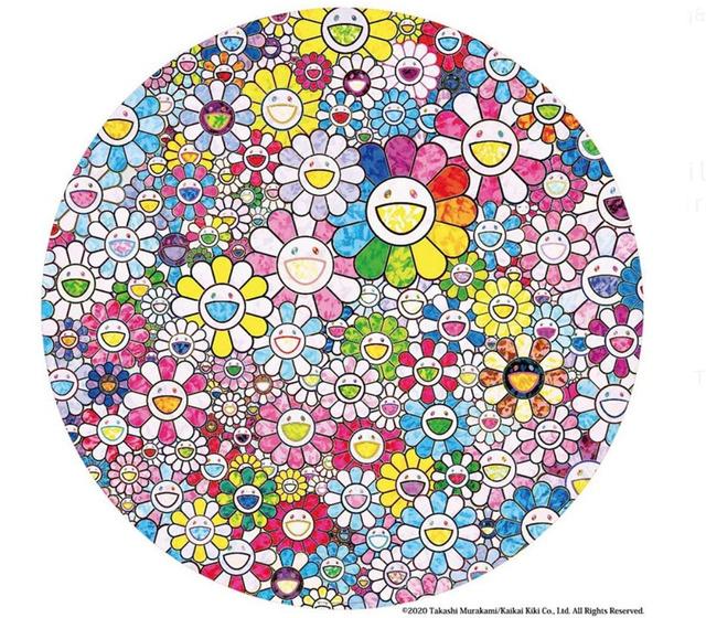Takashi Murakami, 'Happy X A Trillion Times: Flowers', 2020, MSP Modern