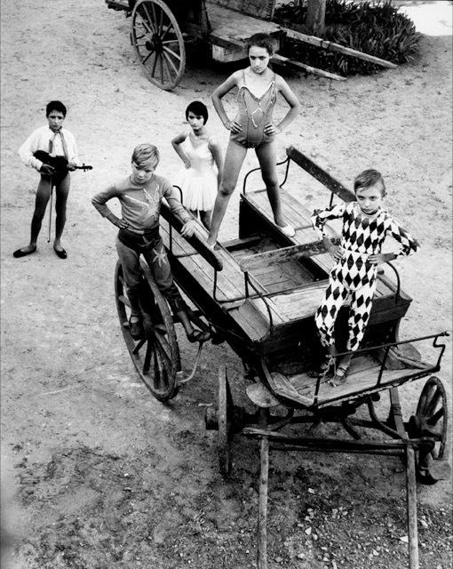 , 'Quintette de la grande récréation III, Arles,' 1955, Bernheimer Fine Art