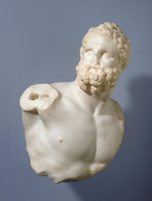 'Bust of a Pugilist and detached fragments (2)', 100 -200, J. Paul Getty Museum