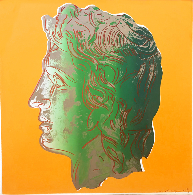 Andy Warhol, 'ALEXANDER THE GREAT FS II.291', 1982, Print, SCREENPRINT ON LENOX MUSEUM BOARD, Gallery Art