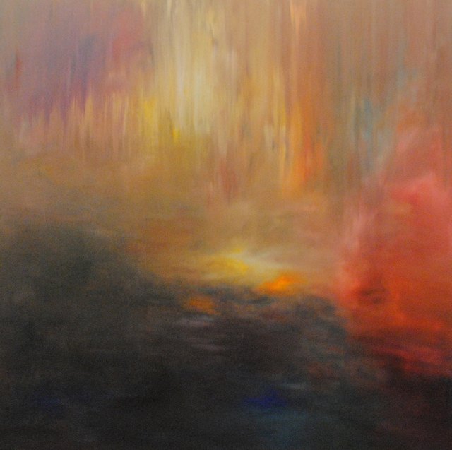 MD Tokon, 'Forest Sunset 2', 2014, Painting, Acrylic on Canvas, Isabella Garrucho Fine Art