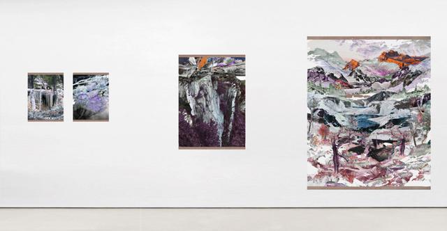 ", 'installation view of the exhibition ""terreno áspero   rugged terrain"",' 2016, Maus Contemporary"