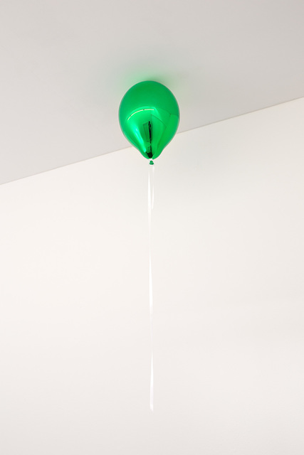 , 'Green Mirror Balloon (dark),' 2017, 303 Gallery