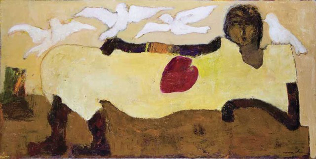 , 'Story of Bird,' 2017, Mirada Fine Art