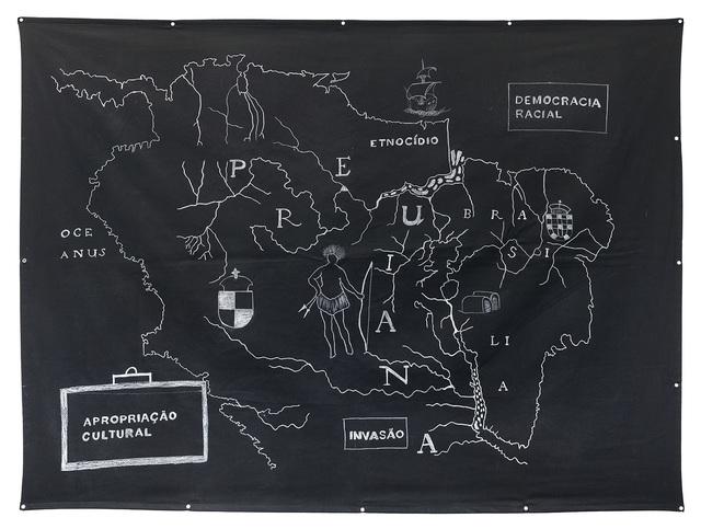 , 'Meridionalis Americae: invasão, etnocídio, democracia racial e apropriação cultural,' 2016, Galeria Leme