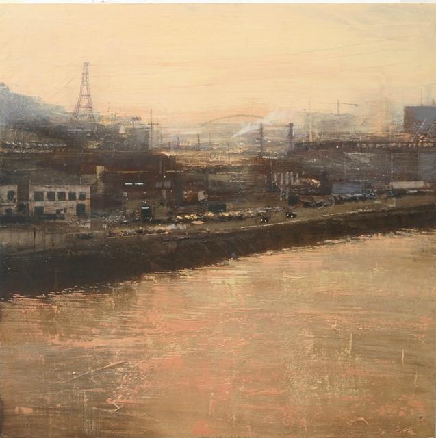 , 'Contraluz industrial en la ría a las dies de la manana,' 2012, Galerie Arcturus