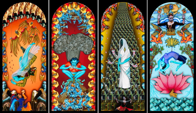 , 'The Four Mothers Who Entered Paradise,' 2014, ACA Galleries