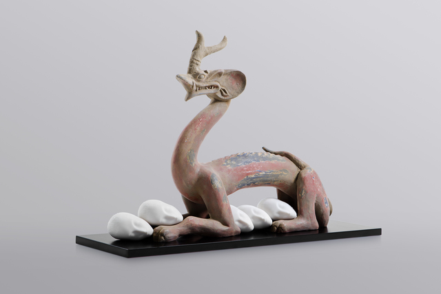 , 'Eternity-Six Dynasties Period Painted Earthenware Dragon, Sleeping Muse,' 2017, MadeIn Gallery