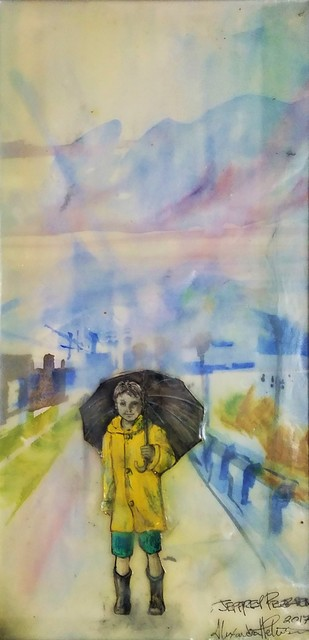 , 'Rain Day,' 2017, J. Pepin Art Gallery