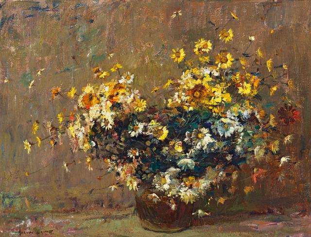 Adriaan Boshoff, 'Daisies in a Copper Pot', Strauss & Co