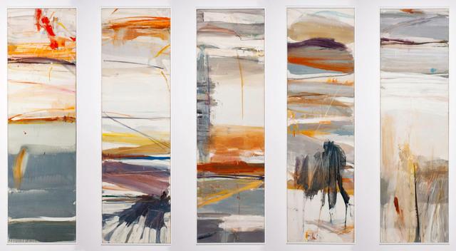 , 'Cinco Vistas de Betran y Serra (Pentaptych),' 1959, Allan Stone Projects