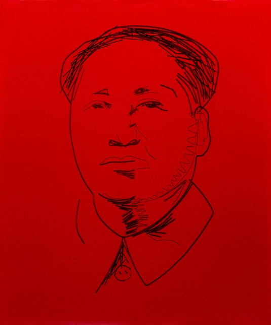 , 'Study for Mao,' 1999/2000, ClampArt