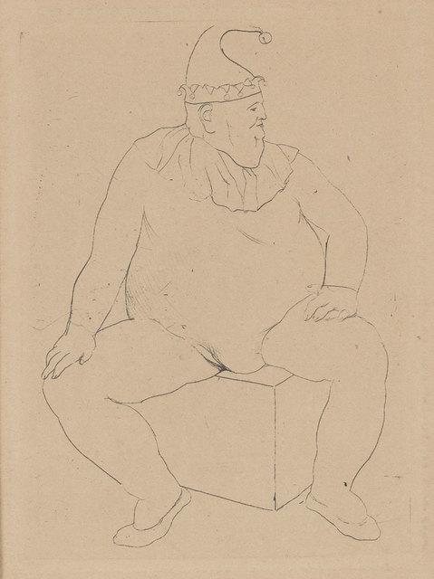 Pablo Picasso, 'Le Saltimbanque Au Repos (Bloch 10)', 1905, Doyle