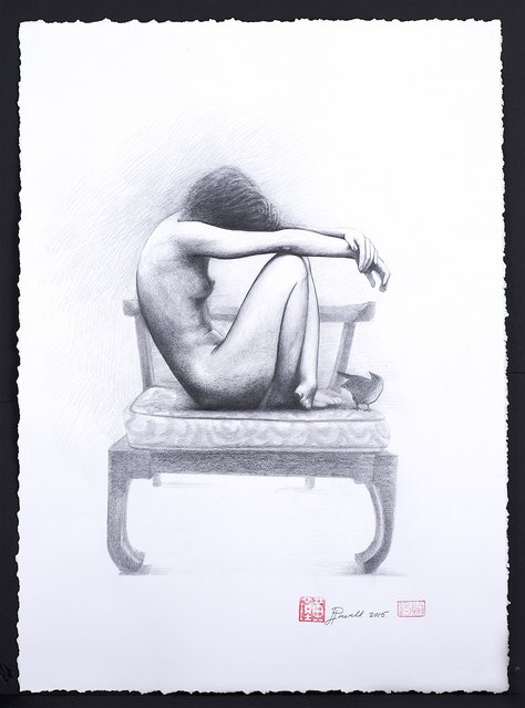 Jin Huang Powell, 'Girl in Chair', 2015, Art Village Gallery