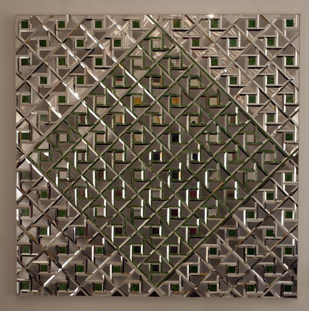 Monir Farmanfarmaian, 'Geometry of Hope', 1976, Guggenheim Museum