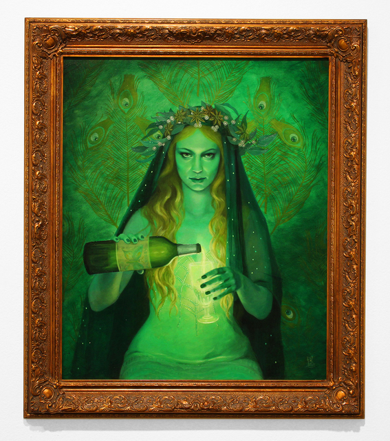 , 'Lair of the Absinthe Fairy,' 3000, Jonathan LeVine Projects