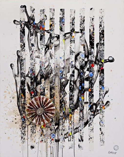 Quetzalcoatl, 'Coqui esgalillao ', 2019, Painting, Acrylic + industrial varnish on canvas, Biaggi & Faure Fine Art