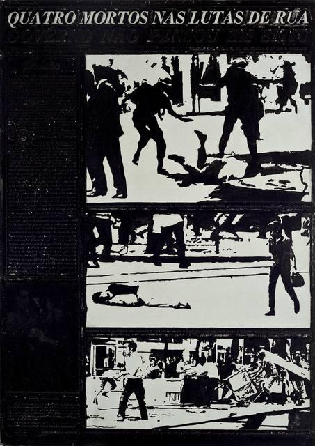 , 'Flan: Movimento Estudantil,' 1968, Ronie Mesquita Galeria